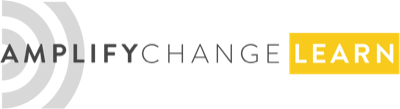Amplify Change Learn logo